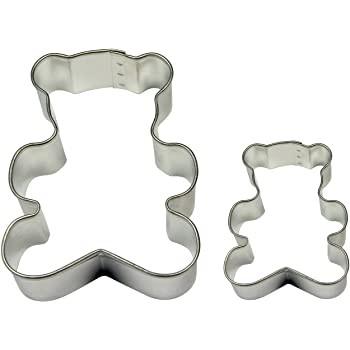 Forma din inox pentru icing SC607-ursulet set 2 buc