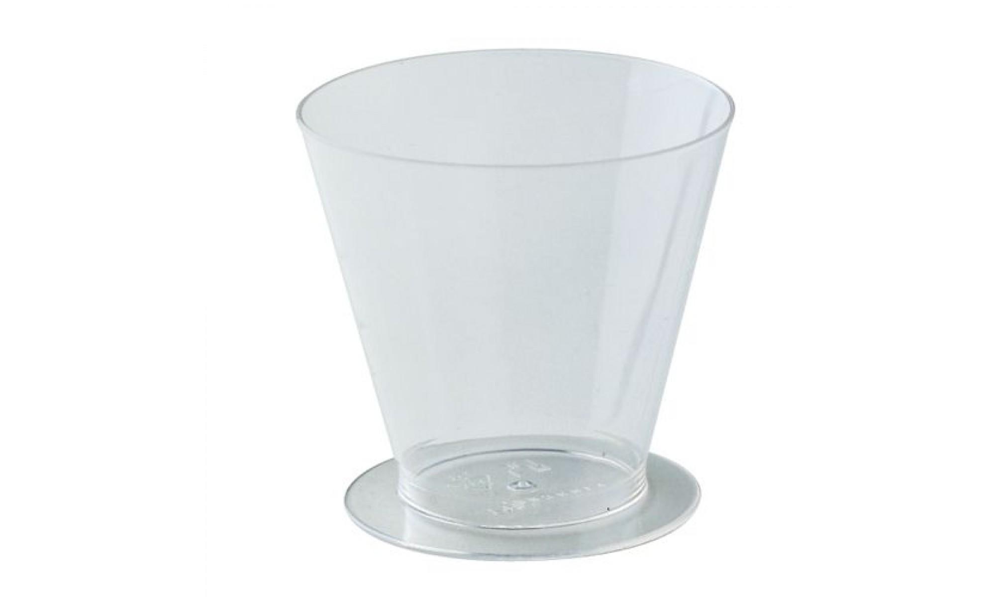 Pahare din plastic PMOCO003 150 ml 100 buc MARTE