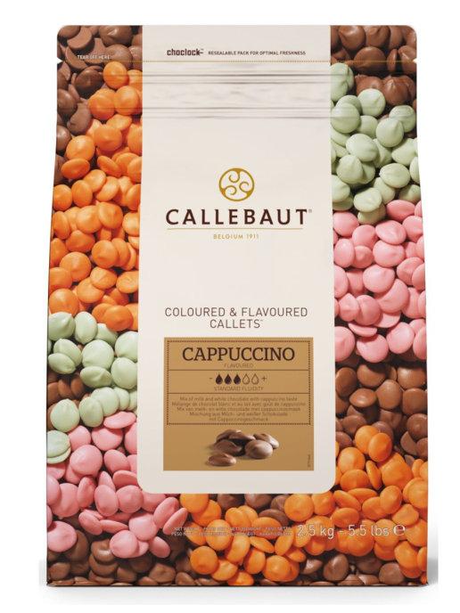 Ciocolata cu lapte cu aroma cappuccino 2,5kg CAPPUCCINO-RT-U70 BARRY
