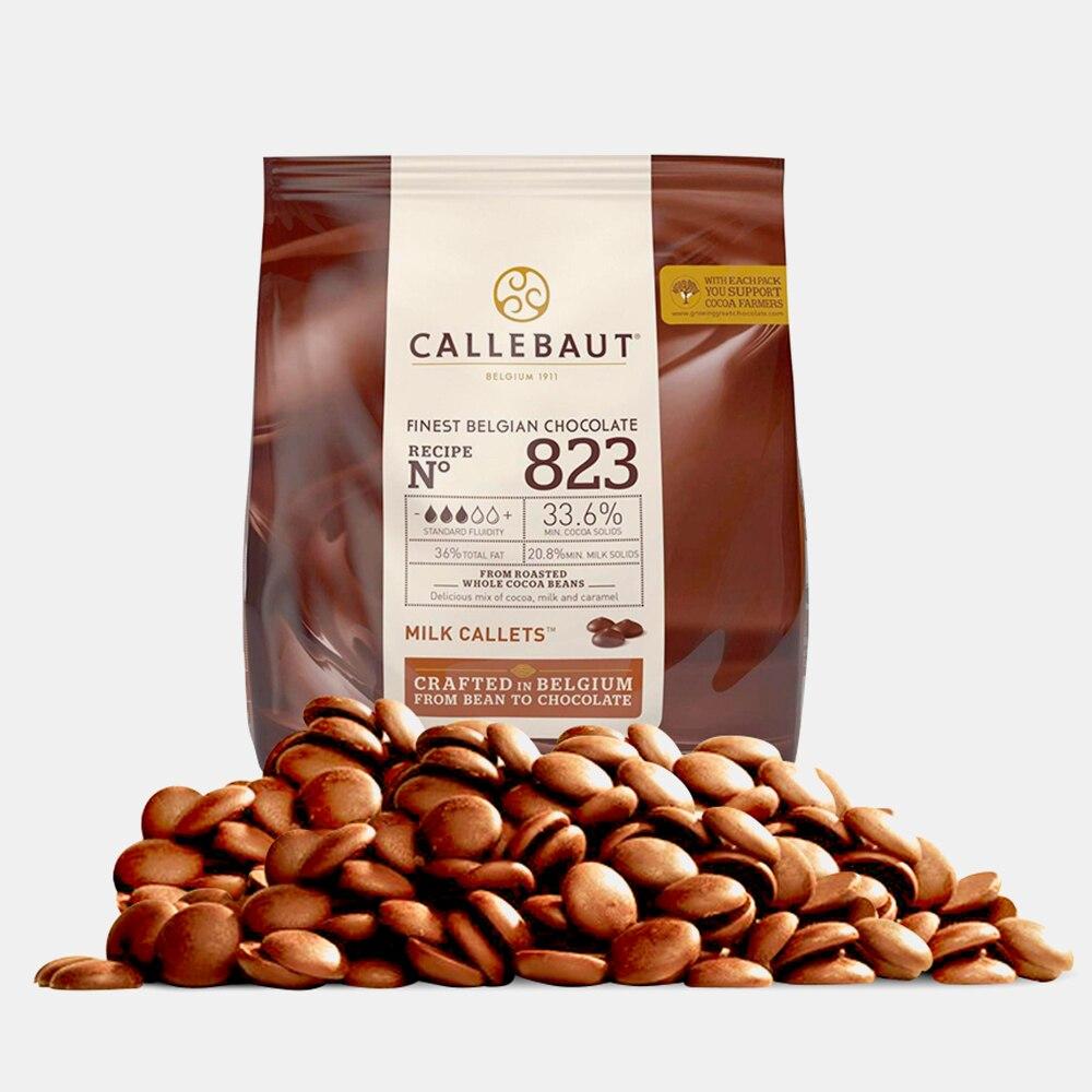 Ciocolata cu lapte 33,6% cacao 823 0.4kg Callebaut
