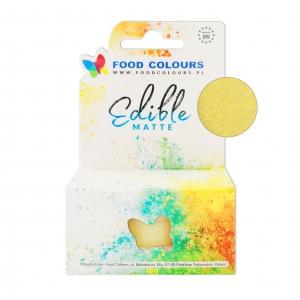 Colorant alimentar Edible Matte 10ml Lemon Cream M001 FC