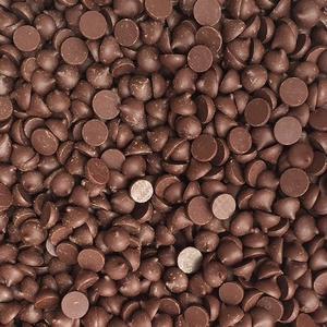 Pastile din ciocolata neagra Belgiana 54,5% 0.500