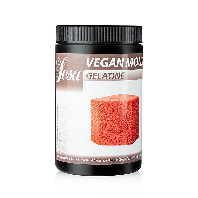 Gelatina vegan mousse 500gr 58050098 SOSA