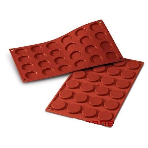 Forma Silicon Fiorentine Ø3.5xh0.5cm, 24 cavitati SF030 MARTE