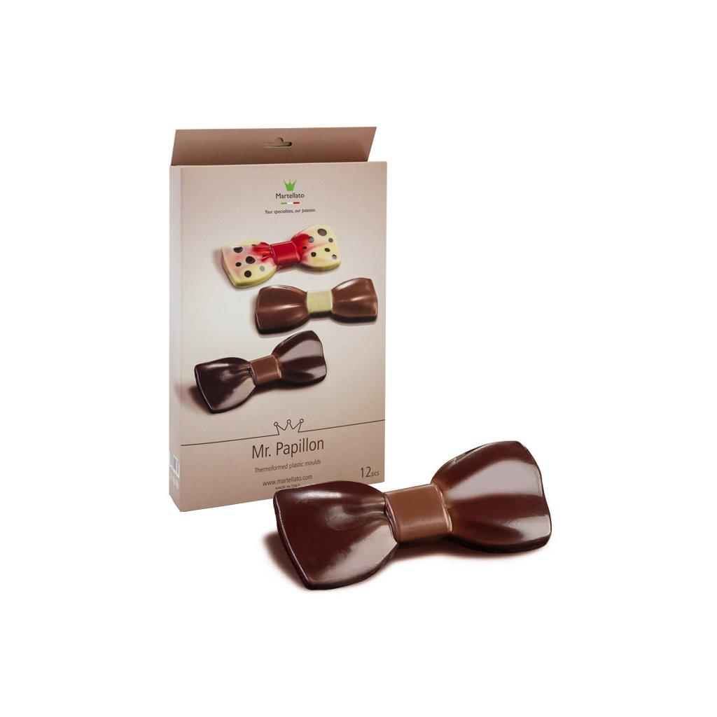 Papion 4 bucati - Matrite Plastic Ciocolata, 20PP01 MARTE
