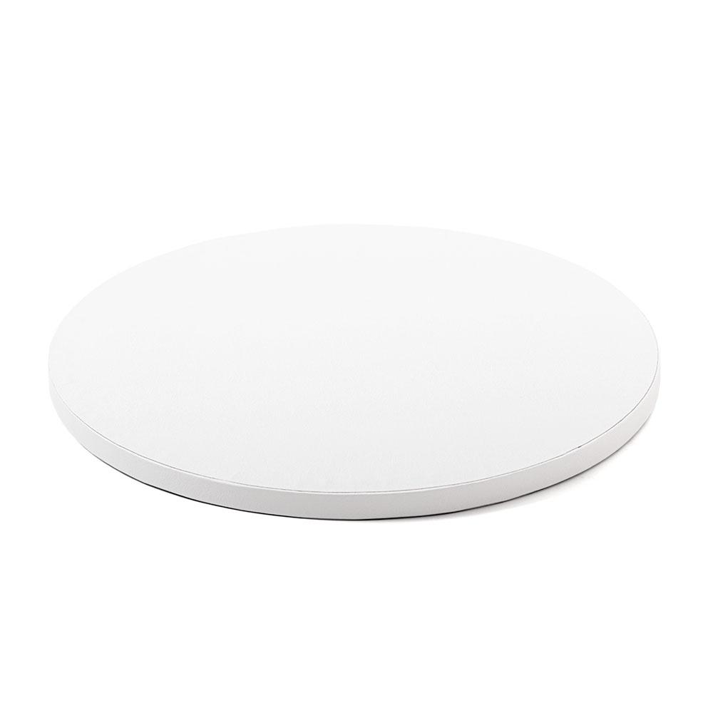Platformă tort rotundă albă 25 cm SMT