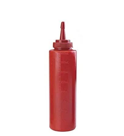 Dozator plastic pentru KETCHUP  250ML 24005 CSL