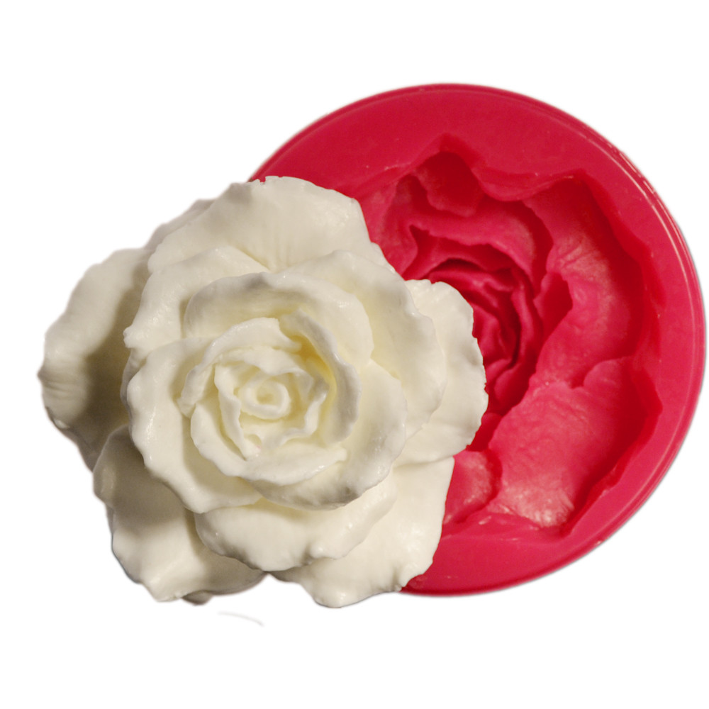 Forma din silicon Small Rose 50x50 mm 32068 CSL
