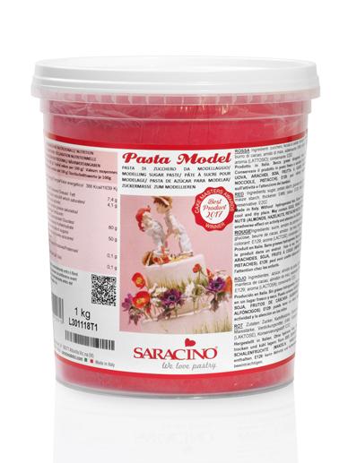 Pasta de modelaj rosie 1 kg DEC022K1_SARACINO