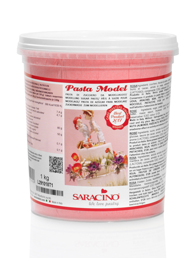 Pasta de modelaj roza 1 kg DEC025K1 SARACINO