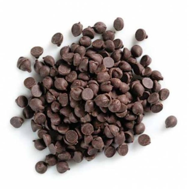 Pastile din ciocolata neagra Belgiana 70,5% 100 gr.