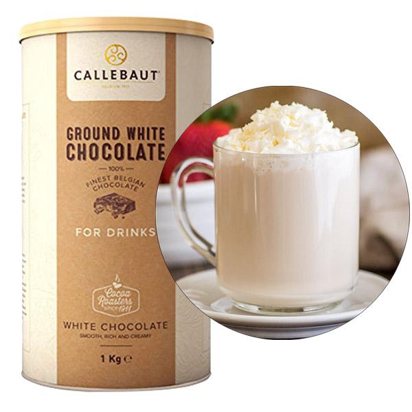 Ciocolata alba macinata  1 kg CHW-X2929P-E0-X7 Callebaut