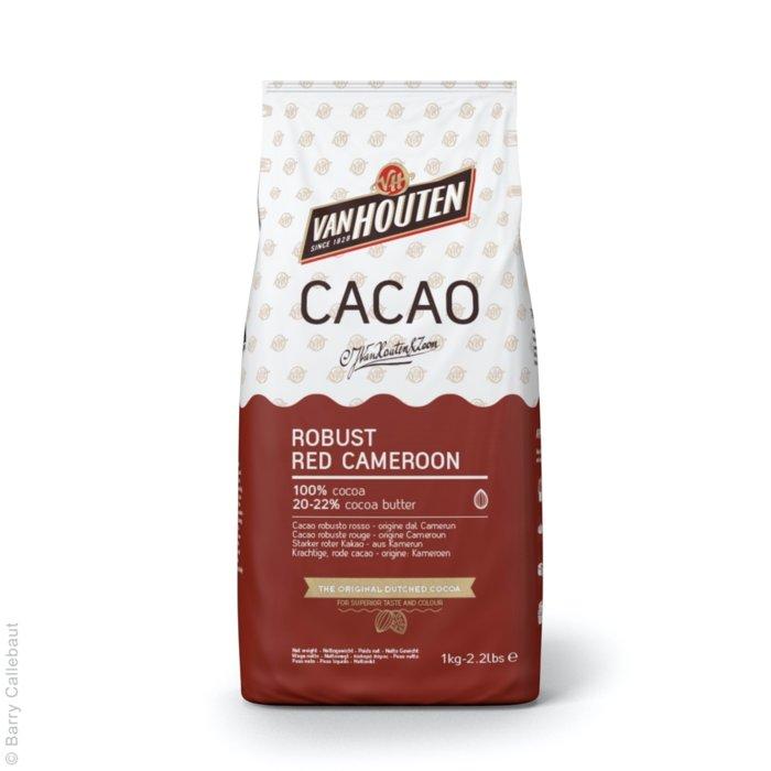 Cacao alcanizata 20-22% RED CAMEROON 1 kg Van Houten