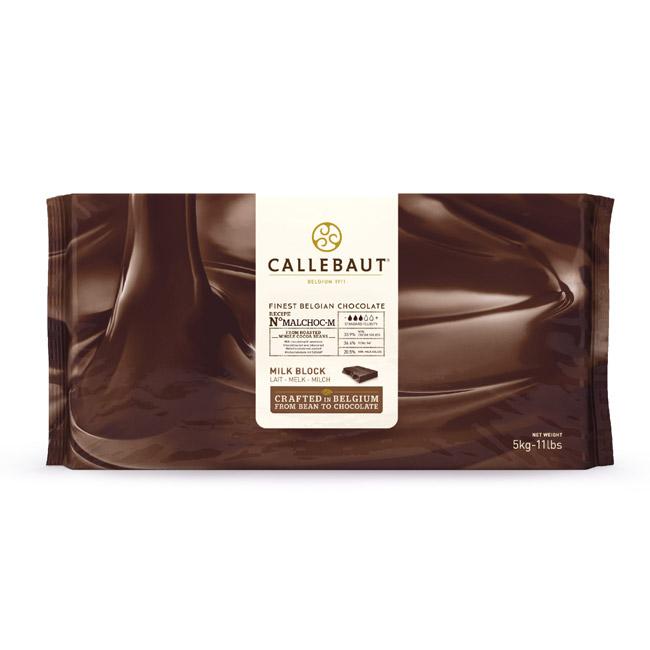 Ciocolata cu lapte fara zahar bloc 5 kg MALCHOC-M-123 Callebaut