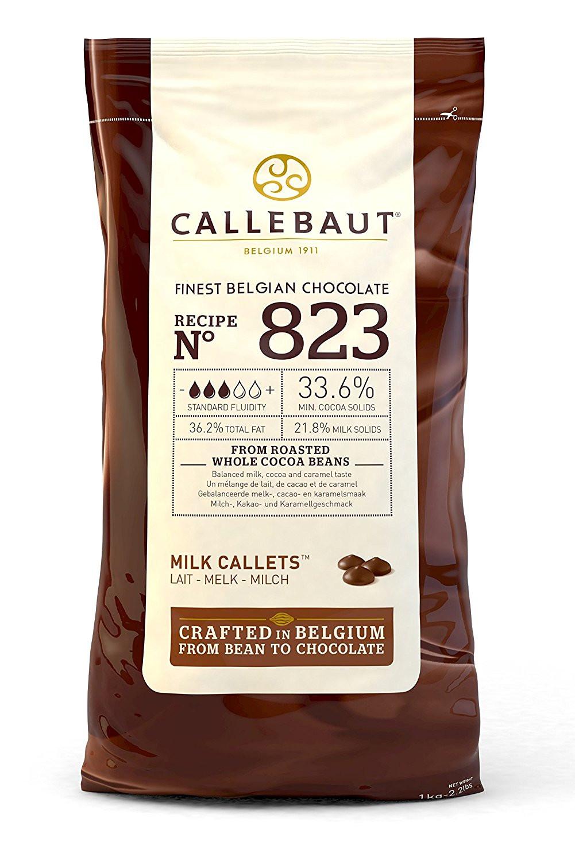 Ciocolata cu lapte 33,6% cacao 823 1kg Callebaut