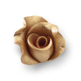 Trandafir din zahar mediu cupru 051316 PJT, set 20 buc