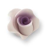 Trandafir din zahar mediu violet 051311 PJT, set 20 buc