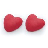 Decoratiuni din zahar Inima mica rosie 09042 PJT set 100 buc