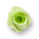 Trandafir din zahar mediu verde deschis 051312 PJT, set 20 buc