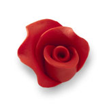 Trandafir din zahar mediu rosu 051302 PJT, set 20 buc
