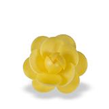 Trandafir din napolitana mare galben 11051201 PJT set 25 buc