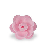 Trandafir din napolitana mare roz 11051203 PJT set 25 buc