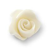 Trandafir din zahar mediu alb roz umbrit  051300/c03 PJT, set 20 buc