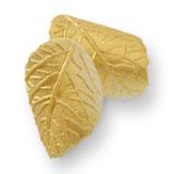 Frunze din zahar mici galbene 0703009 PJT set 250 buc