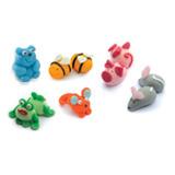 Decoratiuni din zahar Animale mici 01090 PJT set 36 buc