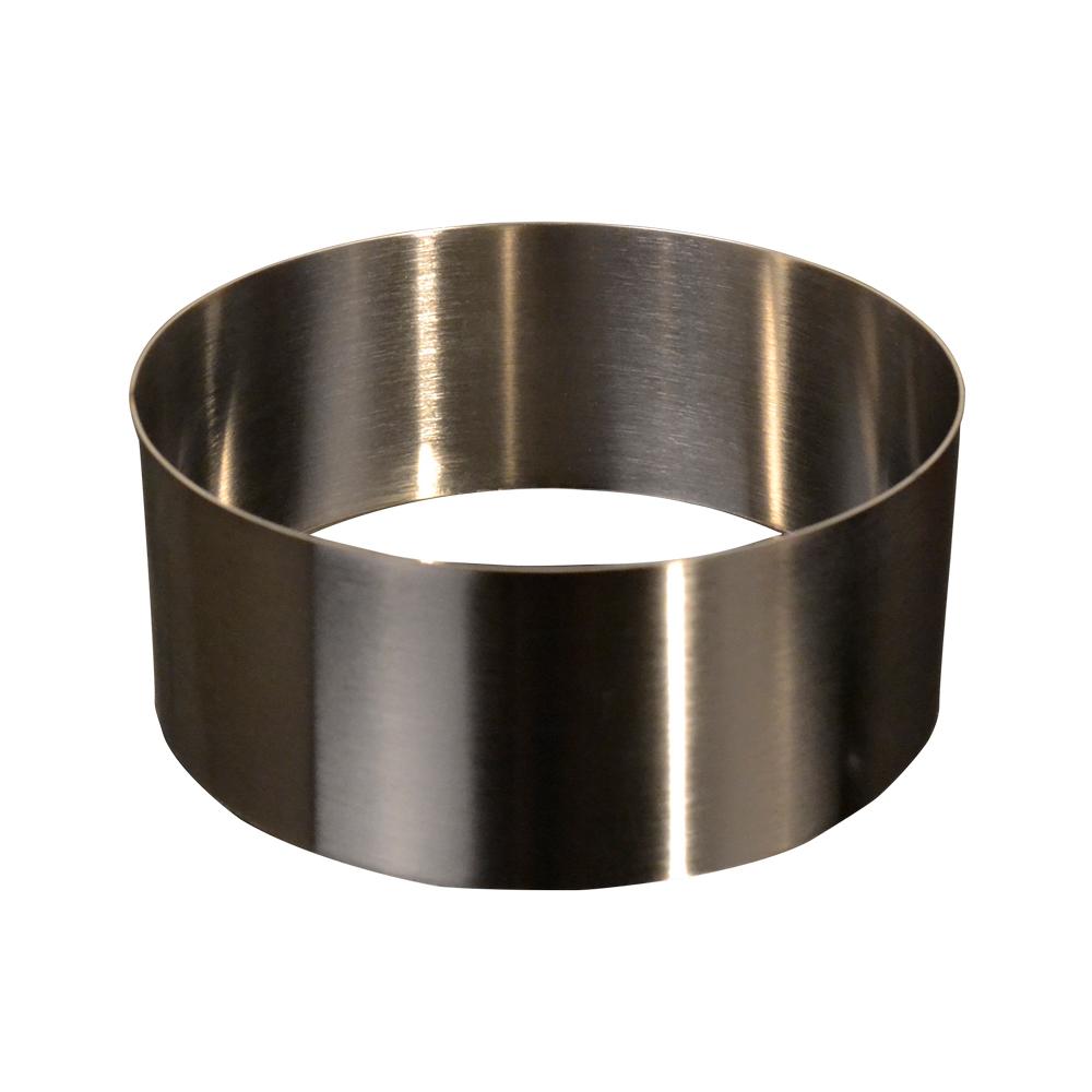 Forma inox rotunda H:10 D:17x17cm 51084 CSL