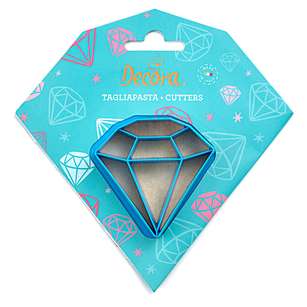 Decupator plastic biscuiti Diamond 255055 DER