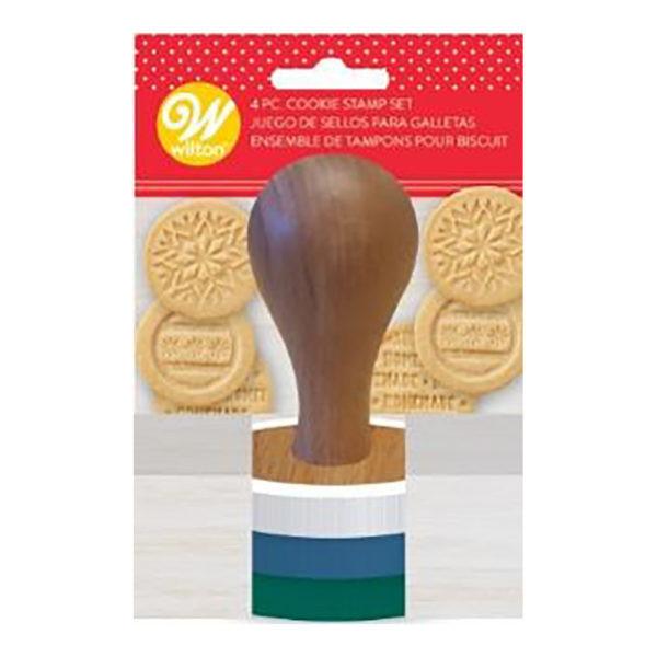 Set 3 stampile pentru biscuiti Christmas 3 buc 267503 DER