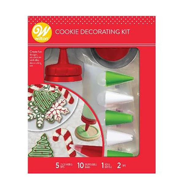Set din plastic pentru decorare biscuiti 267504 DER