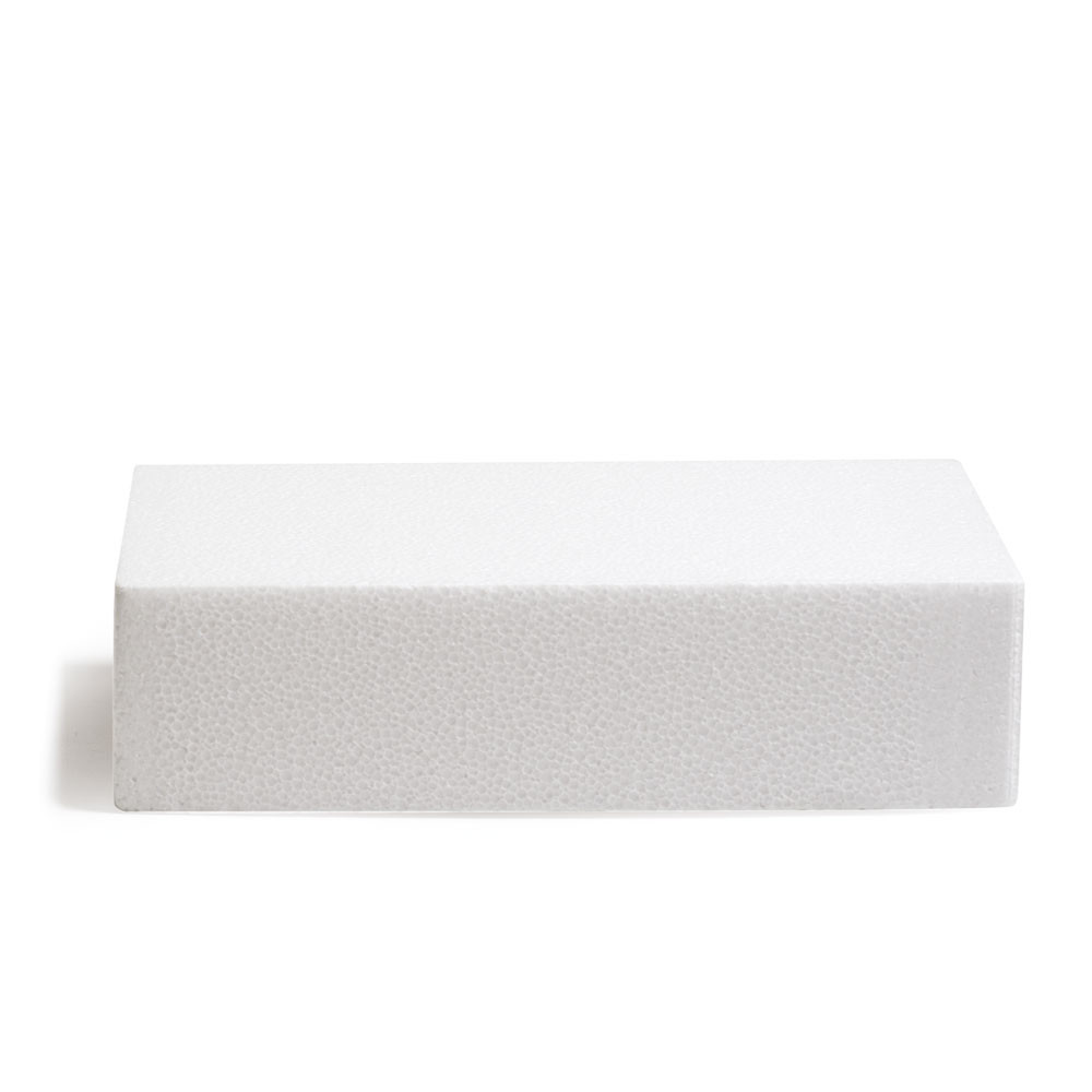 Macheta polisteren tort drept 20x30x7,5H cm 174023 DER