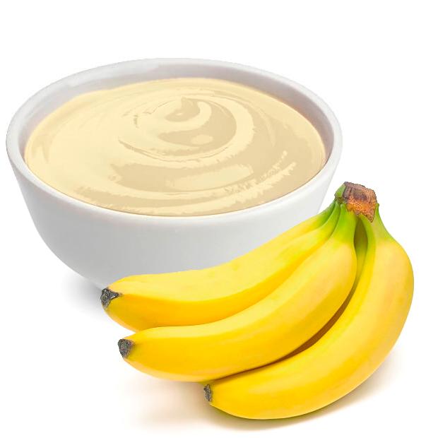 Piure de banane 100% TUTTAFRUTTA, T3BAN 1,5 KG aseptic