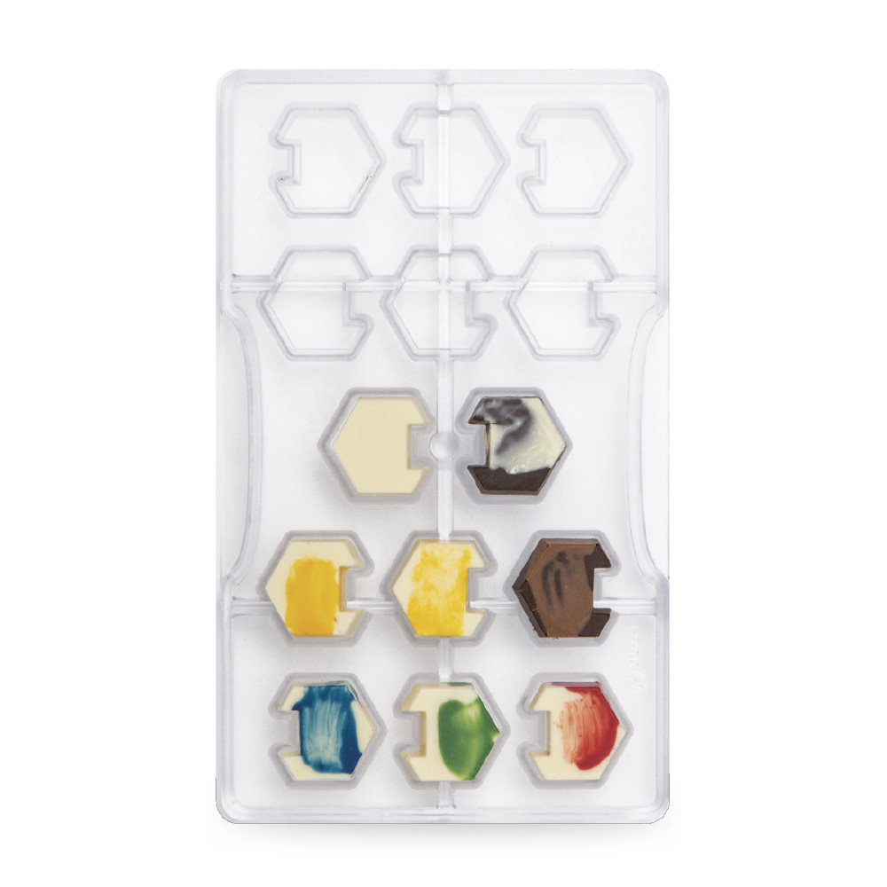 Forma policarbonat Hexagon 0050121 DER