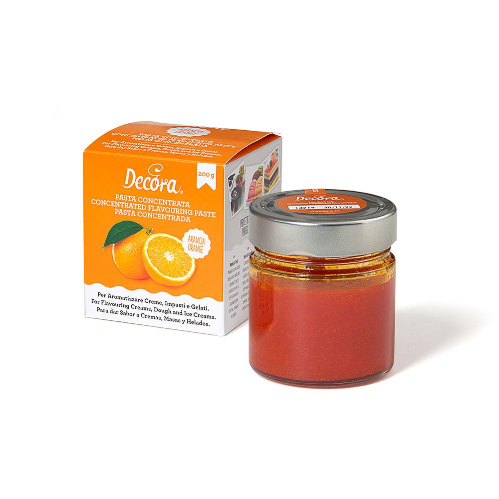 Pasta concentrata cu aroma portocala 200 g 2100027 DER