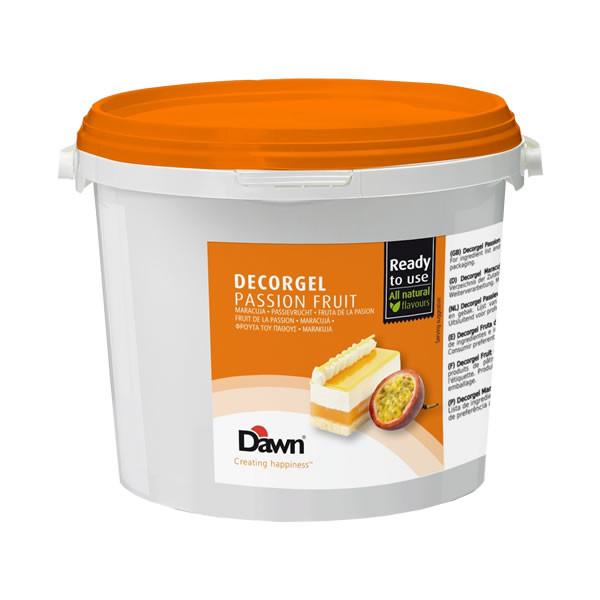 Glazura fructul pasiunii Decorgel 3 kg DAWN