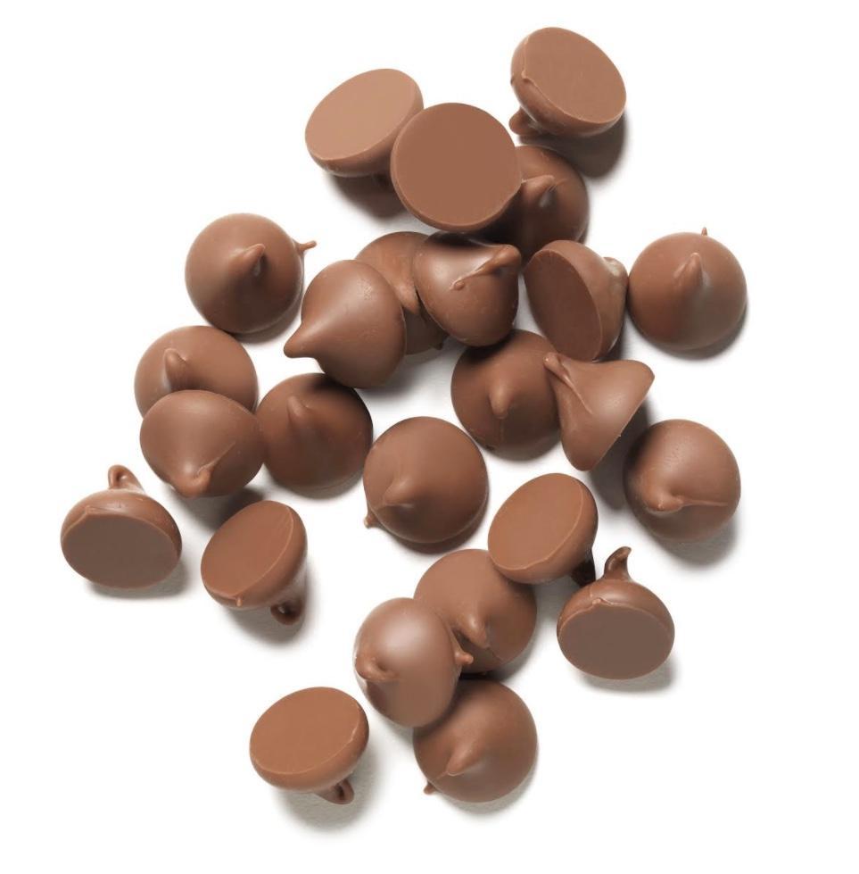 Picaturi termostabile din ciocolata cu lapte 29,8%  250gr GPR