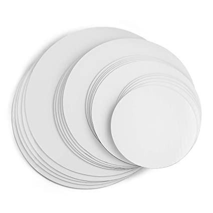 Disc gros tort 2 fete ALB/KRAFT Ø 12 cm 3 mm TRK