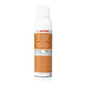 Spray alimentar bronz metalizat 150 ml Pavoni