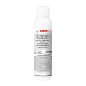 Spray alimentar argintiu metalizat 150 ml Pavoni