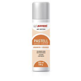 Spray alimentar portocaliu pastel 250 ml Pavoni