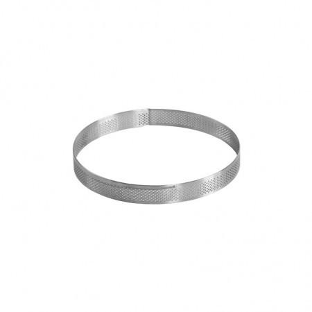 Rama microforata rotunda tarte Ø 150 x h 20 mm Pavoni