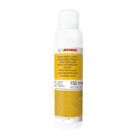 Spray alimentar auriu metalizat 150 ml Pavoni