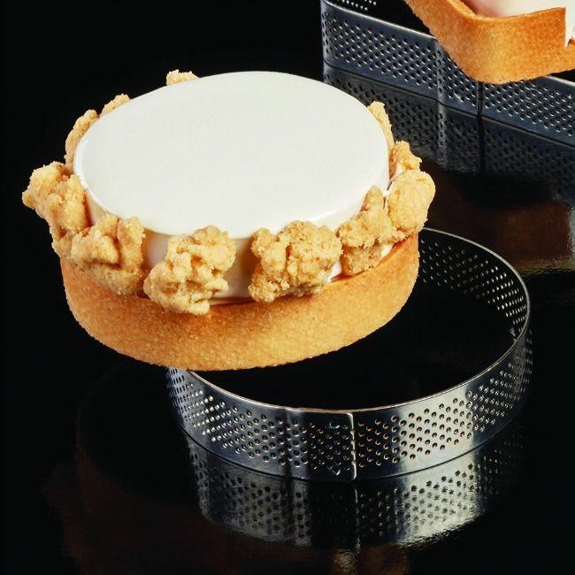 Rama microforata rotunda tarte Ø 210 x h 35 mm Pavoni