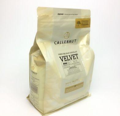 Ciocolata alba Velvet 2,5 kg (P) W3-E4-U71  BARRY