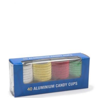 Forma muffin ALUMINIU COLORATE 16x24 40buc 700002/08274 RETAIL NV