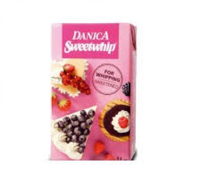 Frisca vegetala Danica Sweetwhip 1L SF