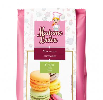 Premix pentru Macarons de Paris verde 300g ML5153-6 MADAM